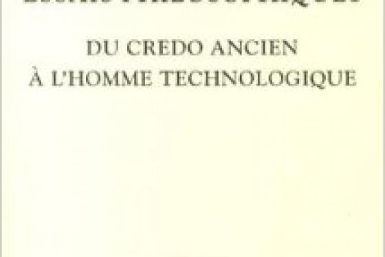 Hans Jonas  - Essais philosophiques, Du crédo ancien à l'homme technologique